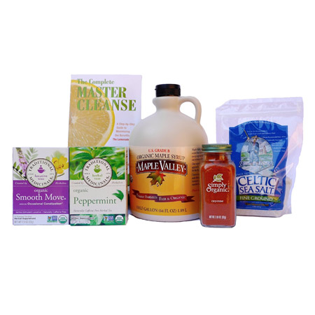 Organic Master Cleanse Kit – 64 oz (by Maple Valley)