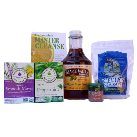 Organic Master Cleanse Kit – 32 oz (by Maple Valley)