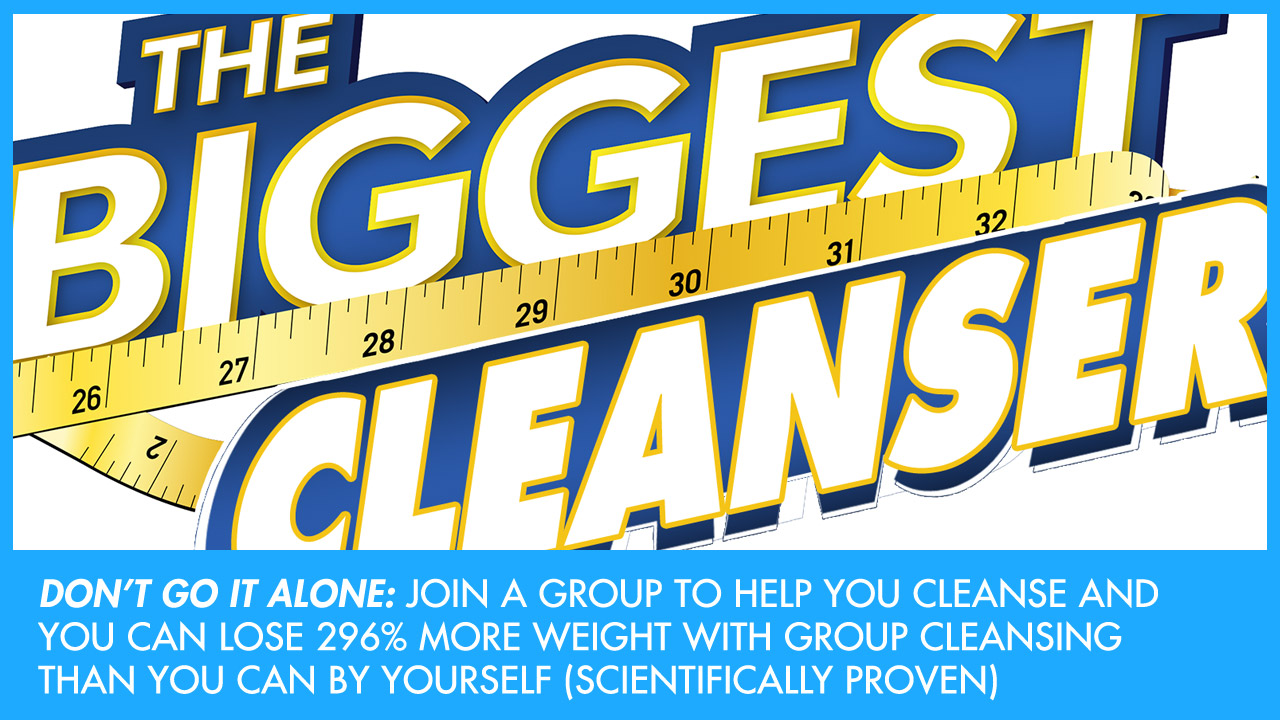 How to Lose 296% More Weight with Group Cleansing (Scientifically Proven)