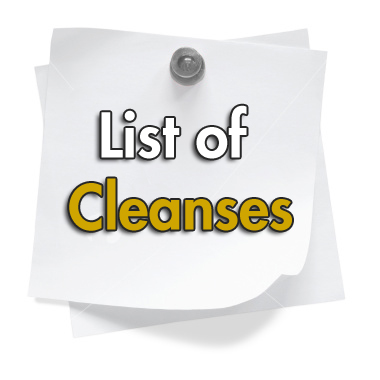 List of Cleanses