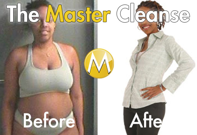 Master Cleanse Before And After