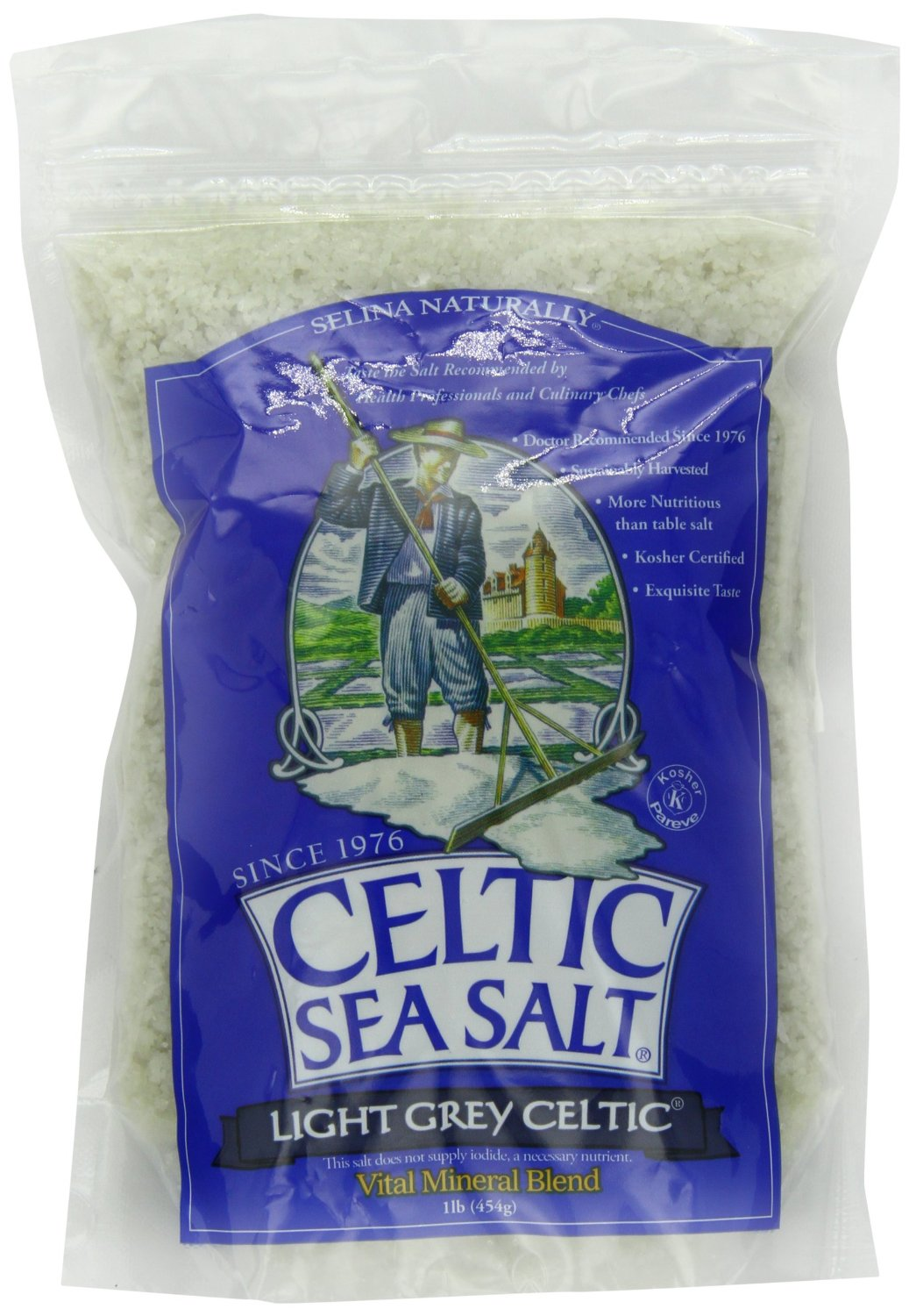 Sea Salt (By Celtic) – 8oz – Course