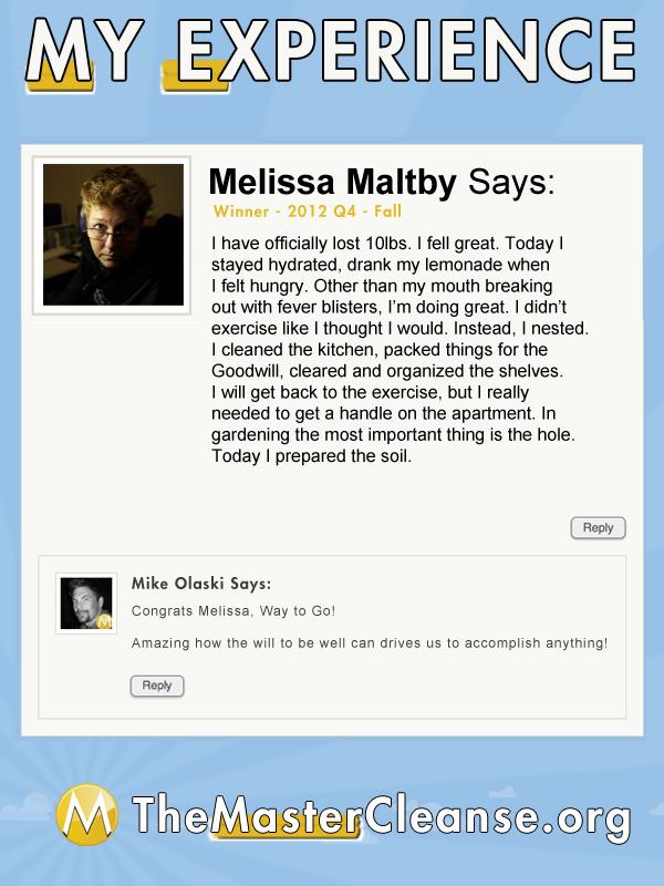 mc-group-cleanse-winner-12q4-melissa-maltby