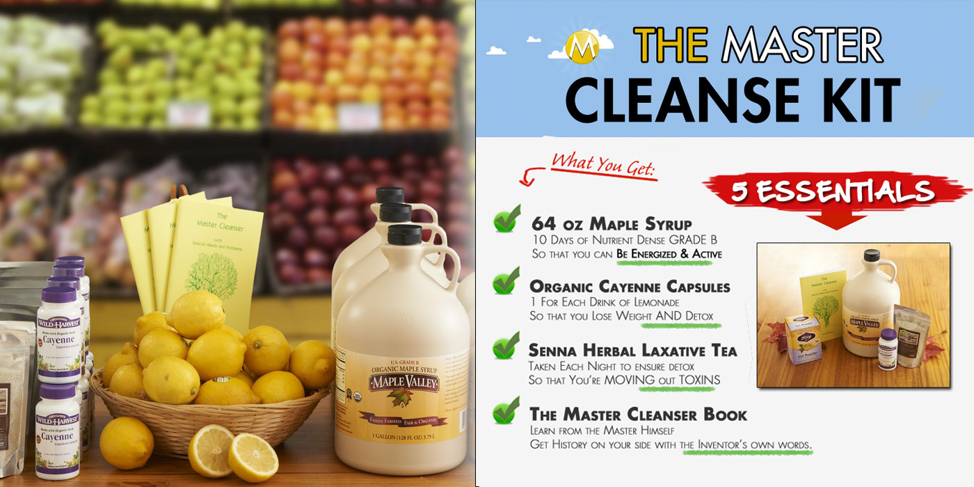 Products The Master Cleanse