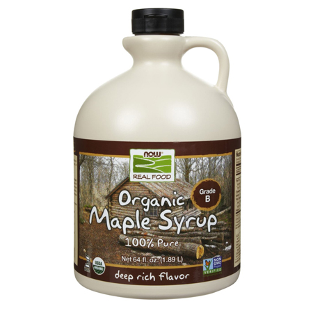 100% Pure Maple Syrup by Now Foods – 64 fl oz
