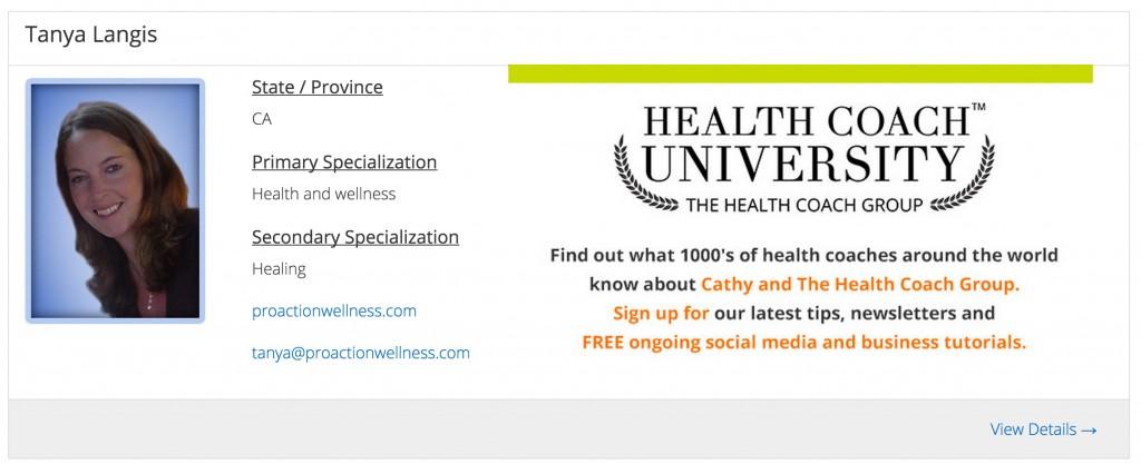 Source HealthCoachGroup.com